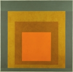 Homage to the Square - Aglow, 1963 (oil on board)