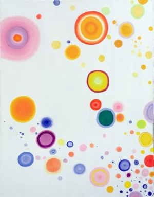 Cosmic Joy!, 2009 (oil on canvas)