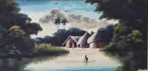 Unknown Nigerian artist (privately owned by Catherine's family)