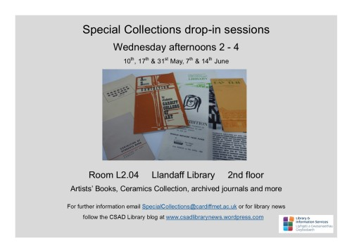 Special Collections drop-in